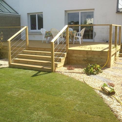 terrasse bois (pin traité)