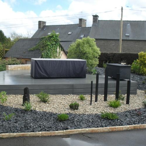 Terrasse composite à Plaintel (22)