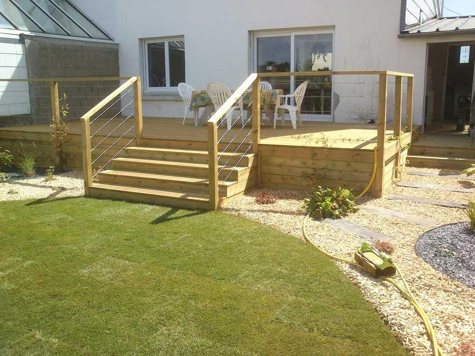 terrasse bois (pin traité) 0