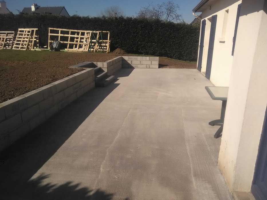 Agrandissement terrasse - Ploufragan (22) 0
