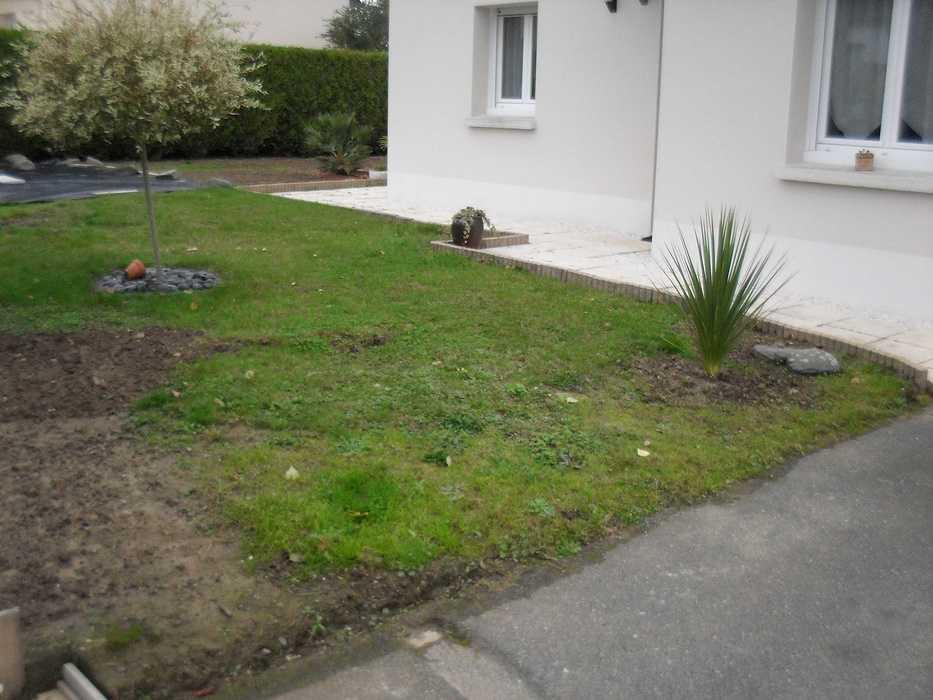 Réaménagement de l''entrée de propriété - Trégueux (22) sdc10591
